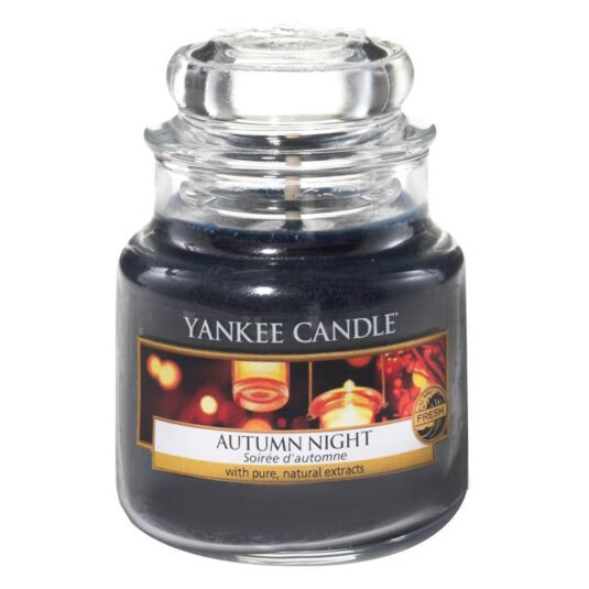 Autumn Night Small Jar Candle