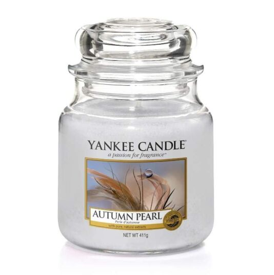 Autumn Pearl Medium Jar Candle
