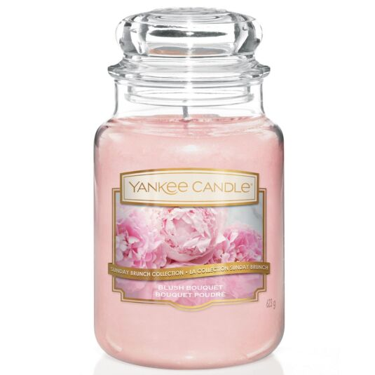 Sunday Brunch Blush Bouquet Large Jar Candle