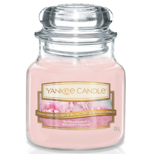 Sunday Brunch Blush Bouquet Small Jar Candle