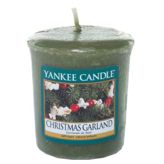 Christmas Garland Sampler Votive Candle