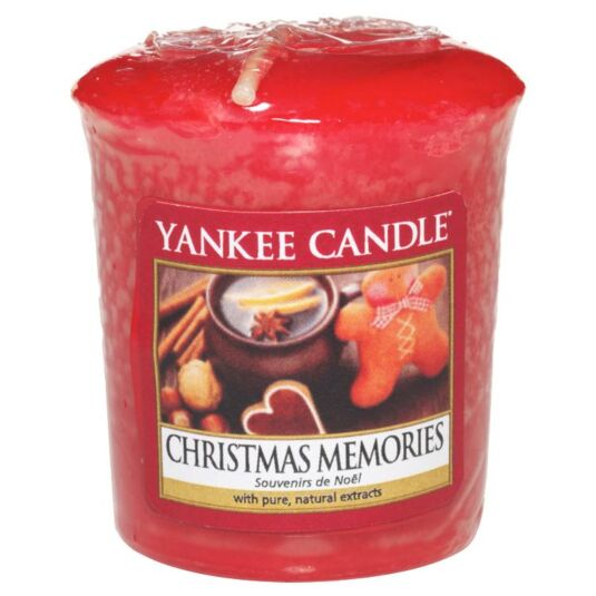 Beau Yankee Candle Christmas Memories Sampler Votive Candle | Temptation Gifts