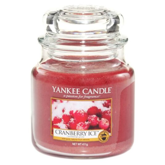 Cranberry Ice Medium Jar Candle