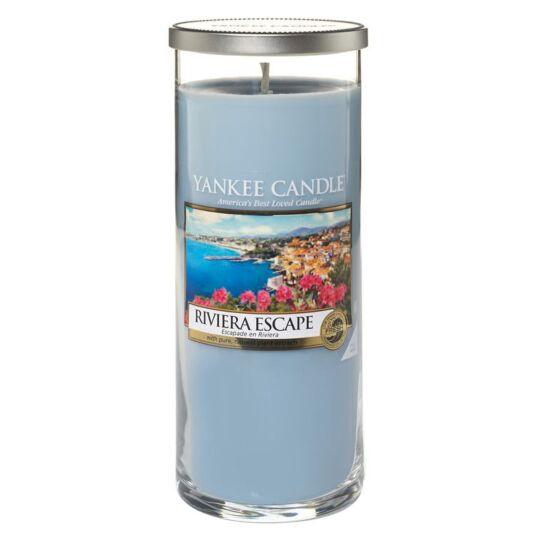 Riviera Escape Large Décor Pillar Candle