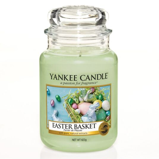 Easter Basket Large Jar Candle