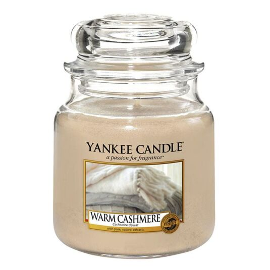 Warm Cashmere Medium Jar Candle