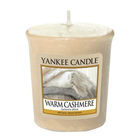 Warm Cashmere Sampler Votive Candle