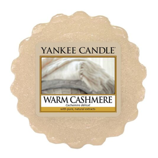 Warm Cashmere Wax Melt Tart