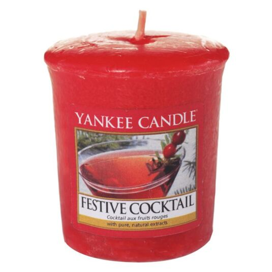 Festive Cocktail Sampler Votive Candle