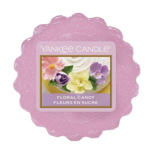 Sunday Brunch Floral Candy Wax Melt Tart