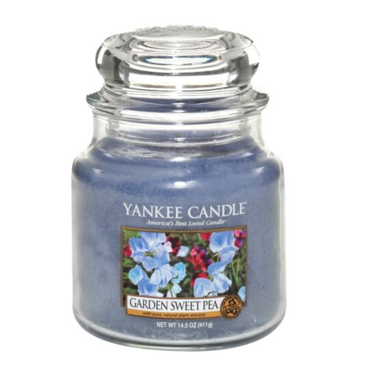 Garden Sweet Pea Medium Jar Candle