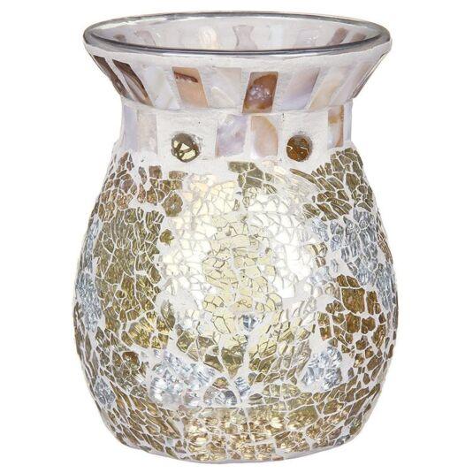 Gold & Pearl Mosaic Wax Melts Warmer