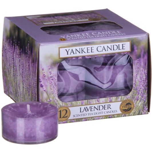 Lavender Pack of 12 Tealights
