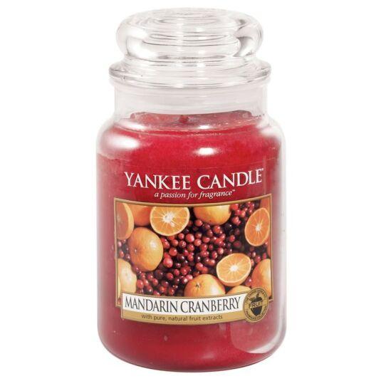 Mandarin Cranberry Large Jar Candle