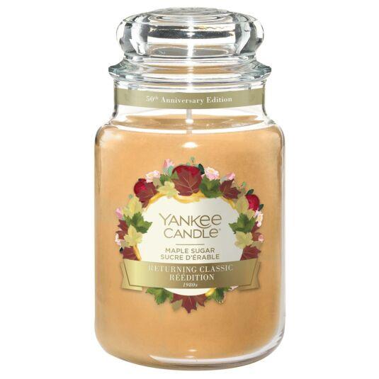 Maple Sugar Large Jar Candle