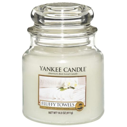 Fluffy Towels Medium Jar Candle