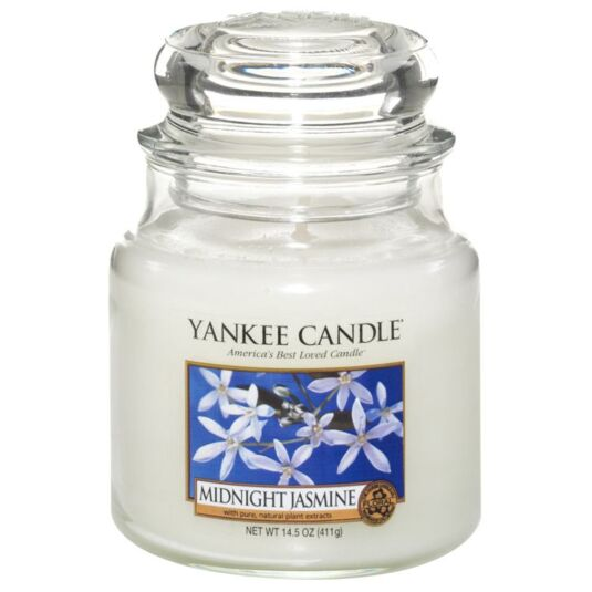Midnight Jasmine Medium Jar Candle