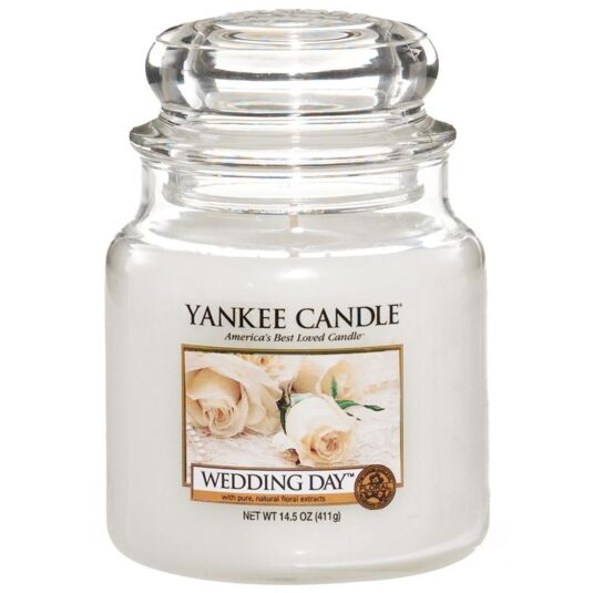 Wedding Day Medium Jar Candle