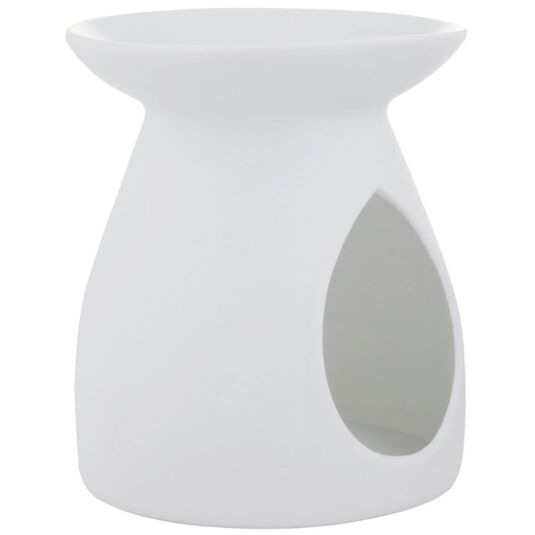 Plain White Ceramic Wax Melts Warmer