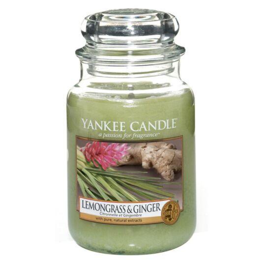 Lemongrass & Ginger Large Jar Candle