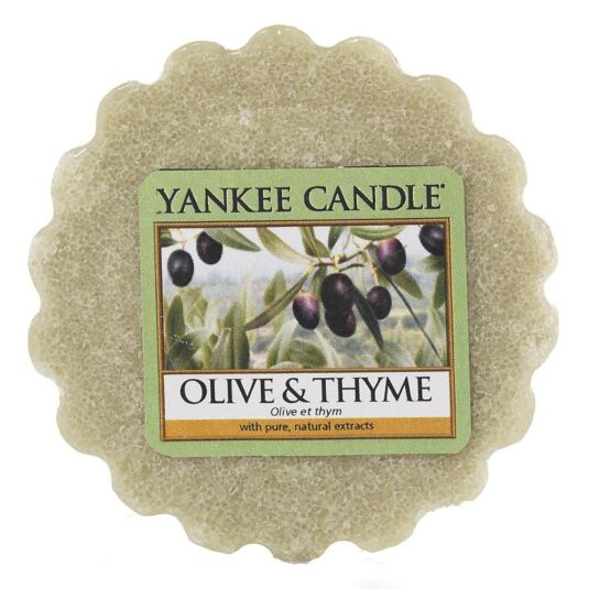 Olive & Thyme Wax Melt Tart