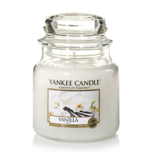 Vanilla Medium Jar Candle