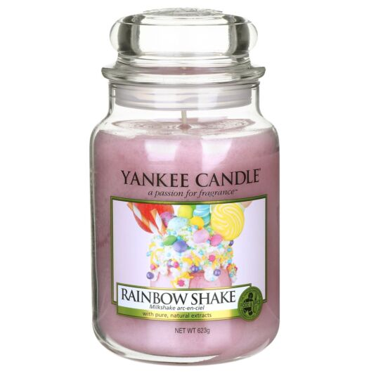 Rainbow Shake Large Jar Candle
