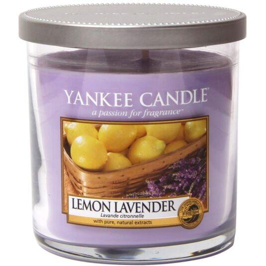 Lemon Lavender Décor Small Pillar Candle
