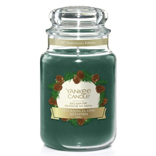 Balsam Fir Large Limited Edition Jar Candle