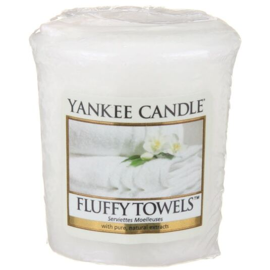 Yankee Candle Fluffy Towels Sampler Votive Candle | Temptation Gifts