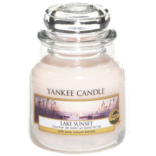 Lake Sunset Small Jar Candle