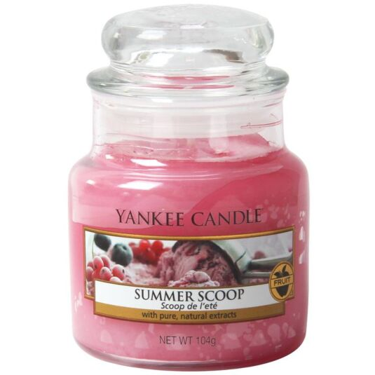 Summer Scoop Small Jar Candle
