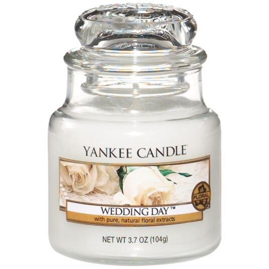 Wedding Day Small Jar Candle
