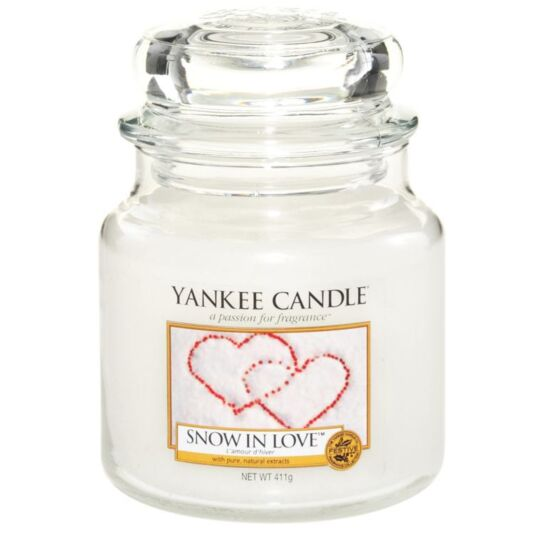 Snow In Love Medium Jar Candle