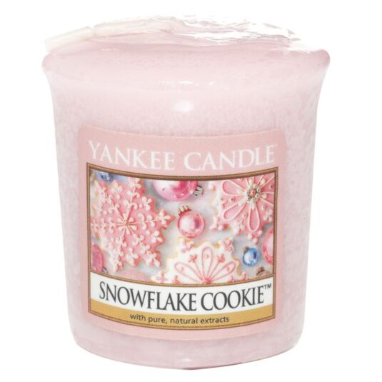 Snowflake Cookie Sampler Candle