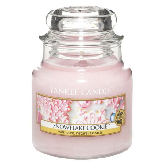 Snowflake Cookie Small Jar Candle