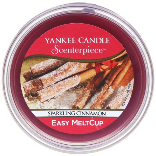 Yankee candle sparkling cinnamon scenterpiece melt cup