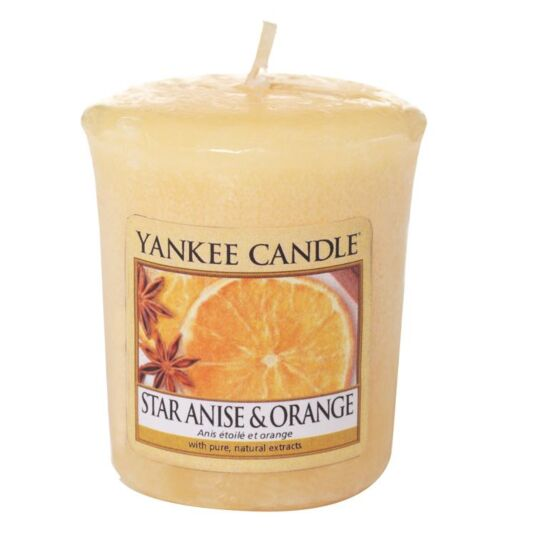 Star Anise & Orange Sampler Votive Candle