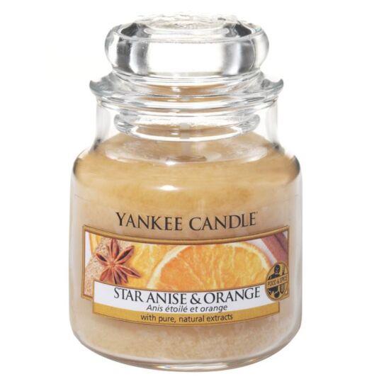 Star Anise & Orange Small Jar Candle