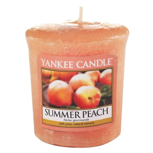 Summer Peach Sampler Votive Candle