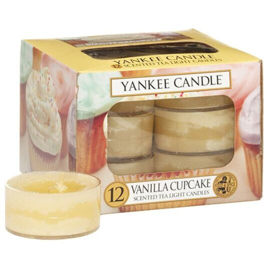 Vanilla Cupcake Pack of 12 Tealights