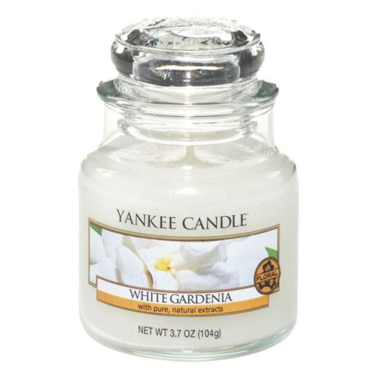 White Gardenia Small Jar Candle