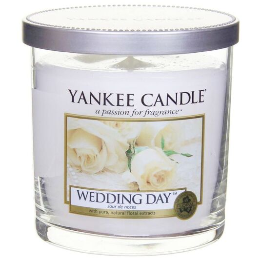 Wedding Day Décor Small Pillar Candle