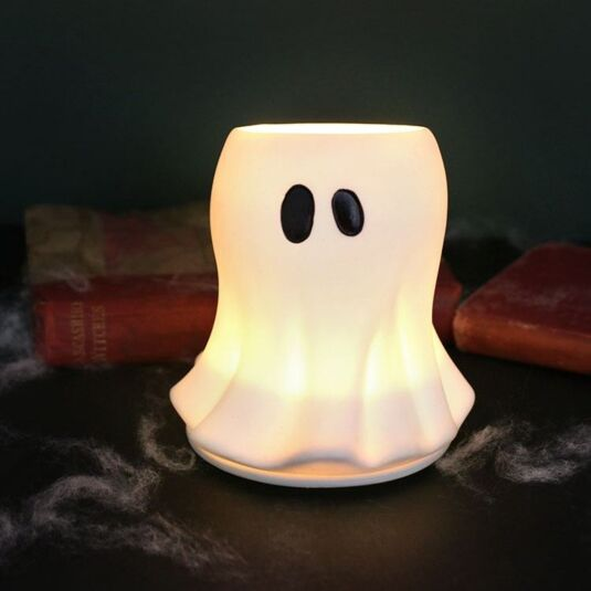 Glowing Ghost Large Votive Candle Holder