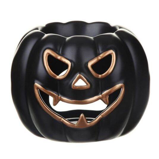 Halloween Black Pumpkin Melt Warmer