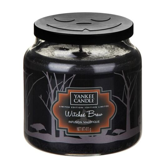 Halloween Witches' Brew Medium Jar Candle