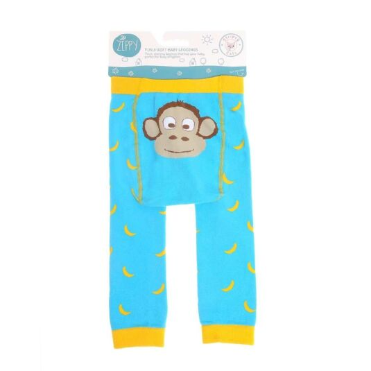 6 – 12 Months Monkey Leggings