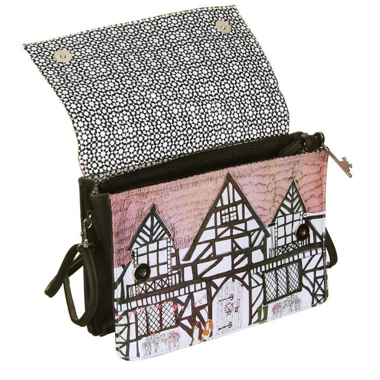 Disaster Designs Home Tudor House Shaped Bag Temptation Gifts