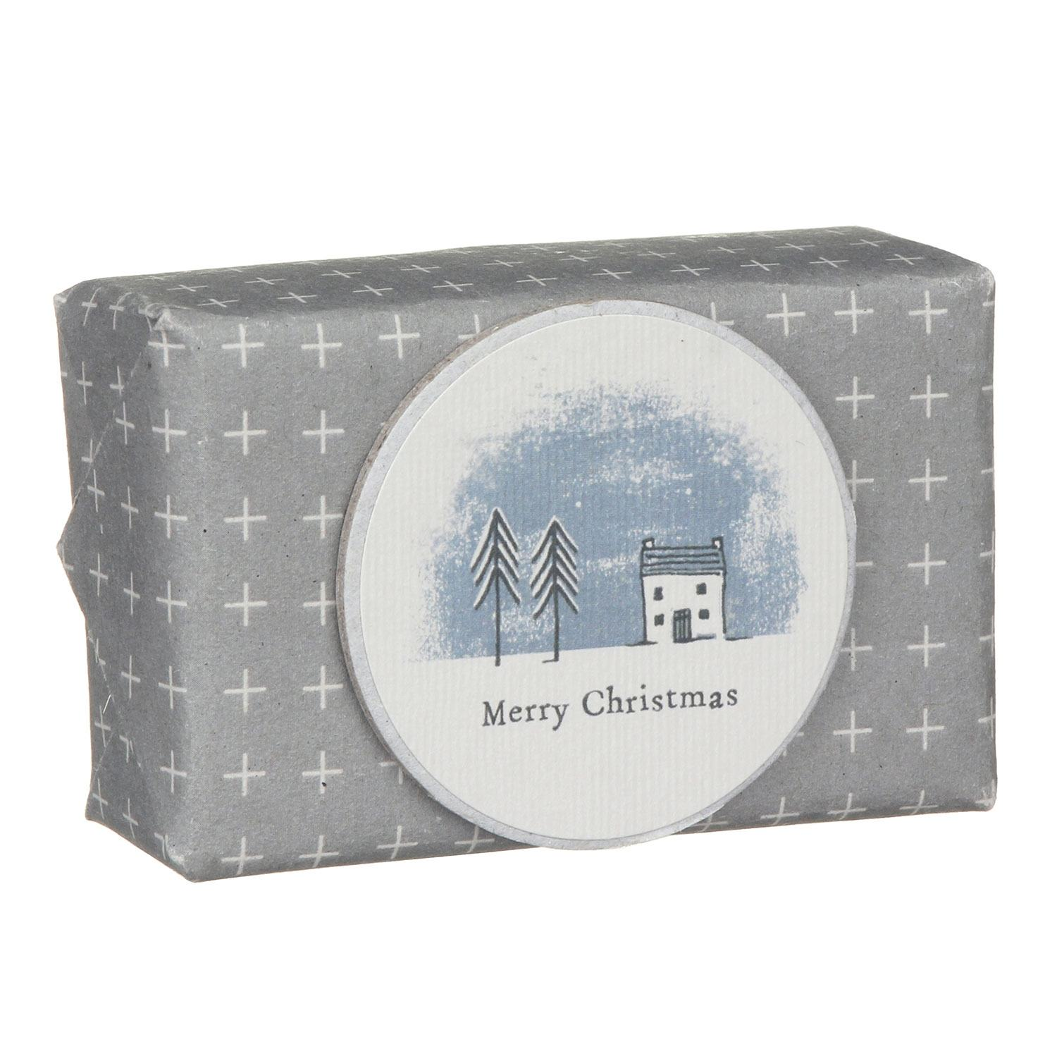 East of India Merry Christmas Wrapped Soap | Temptation Gifts