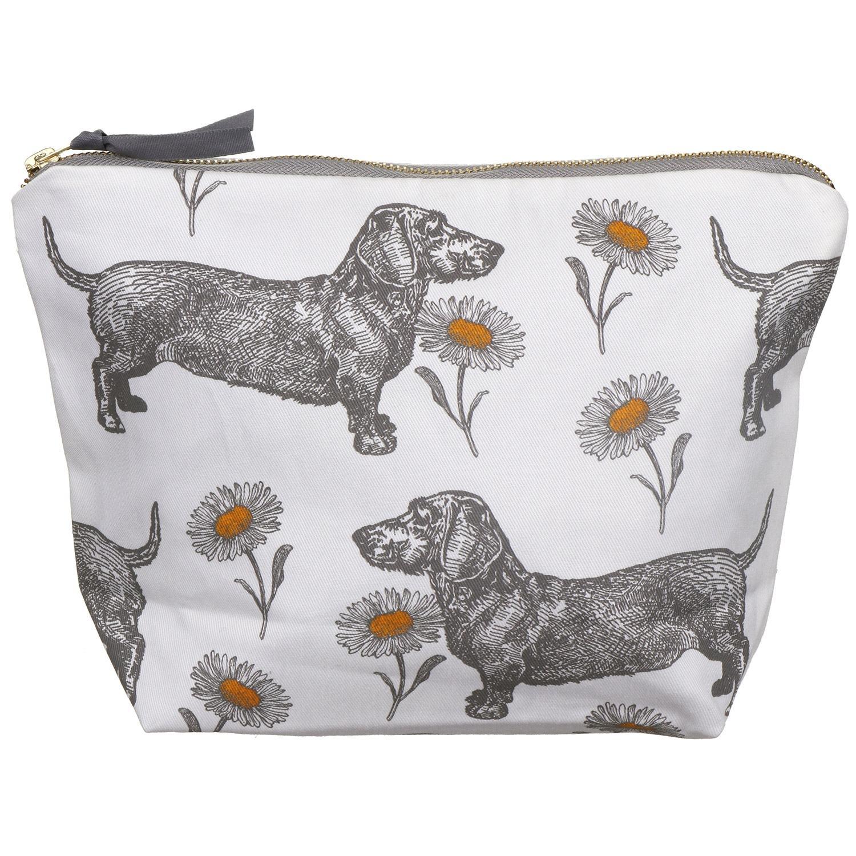 Thornback & Peel Dog & Daisy Large Cosmetic Bag